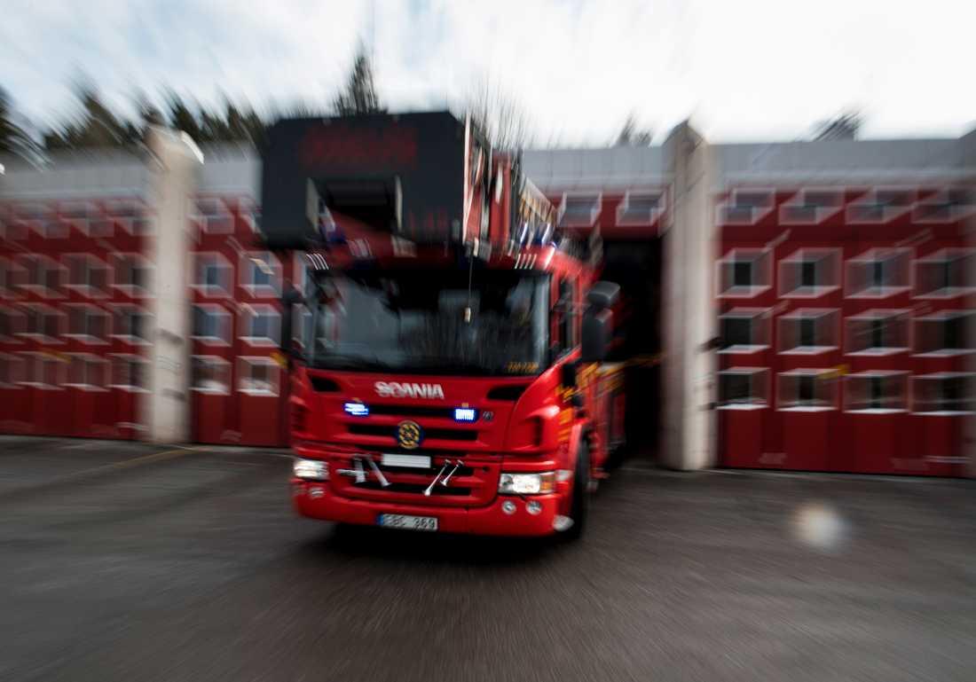 Räddningstjänsten har fått rycka ut till en lägenhetsbrand i Bergs kommun i Jämtland. Arkivbild.