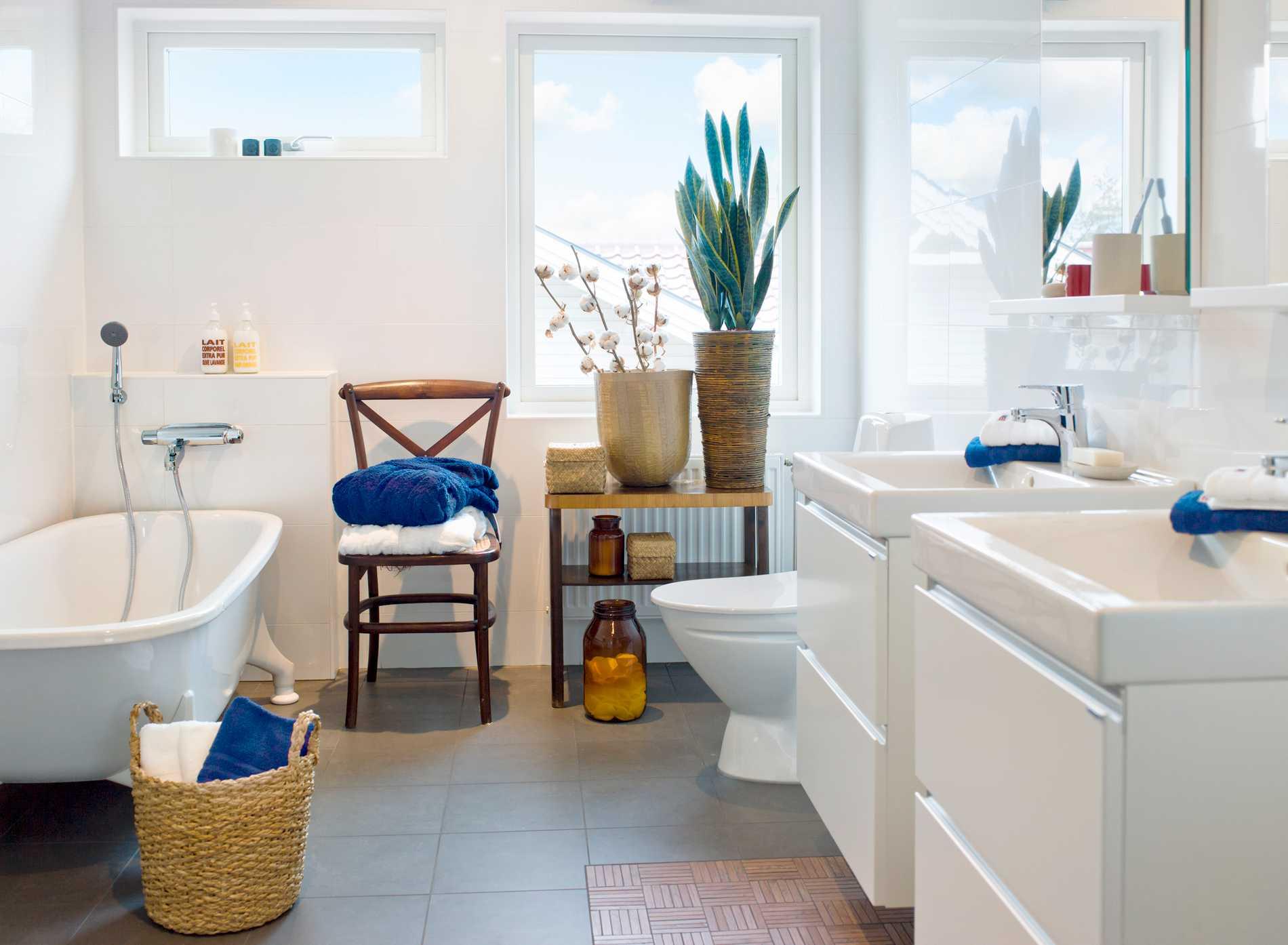 Skapa ett trendigt badrum utan att renovera.