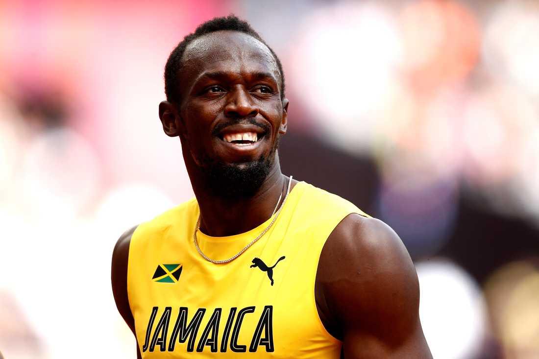 Usain Bolt ska bli pappa.