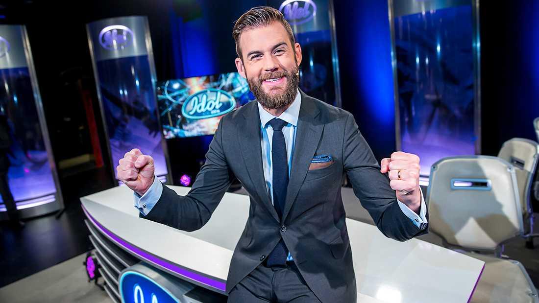 """Pär Lernström redo för en ny säsong av """"Idol""""."""