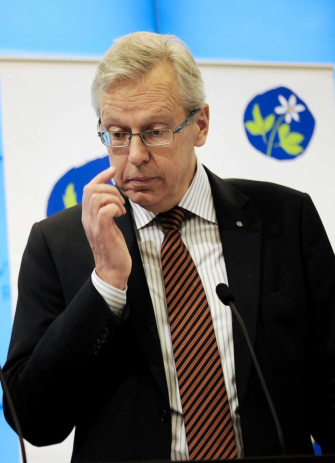 SNART UTE UR LEKEN När Mats Odells öppet utmanade Göran Hägglund som partiledare gjorde han sig omöjlig att behålla för partistyrelsen.