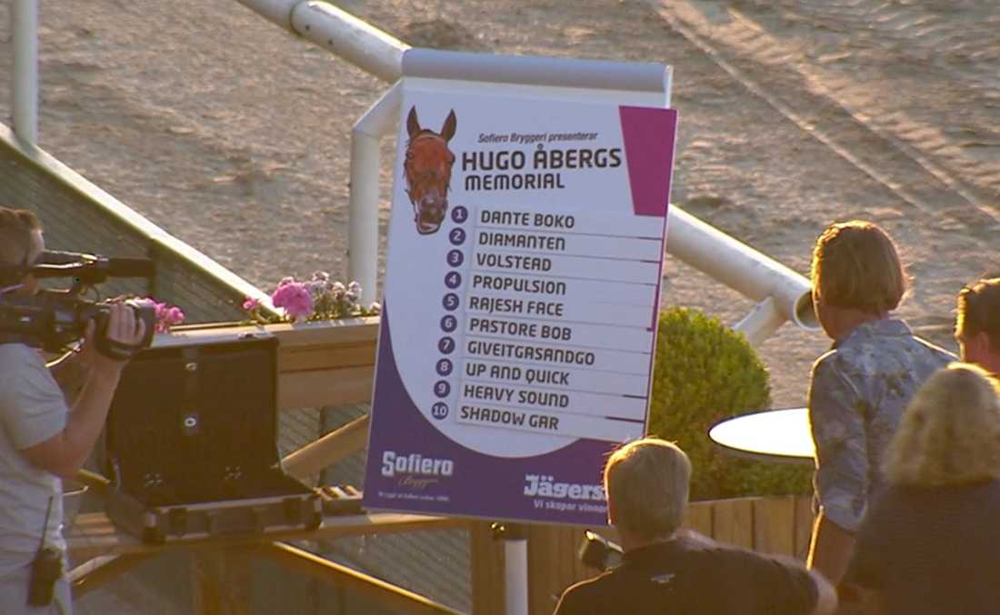 Under tisdagskvällen lottades miljonloppet Hugo Åbergs Memorial i Jägersros vinnarcirkel.