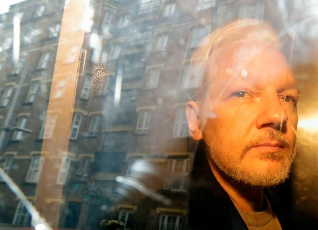 Wikileaks-grundaren Julian Assange begärs häktad i sin utevaro av vice överåklagare Eva-Marie Persson. Arkivbild.