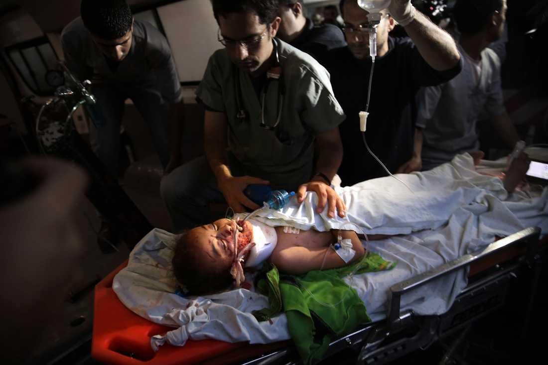 Många skadades och dödades under måndagen.