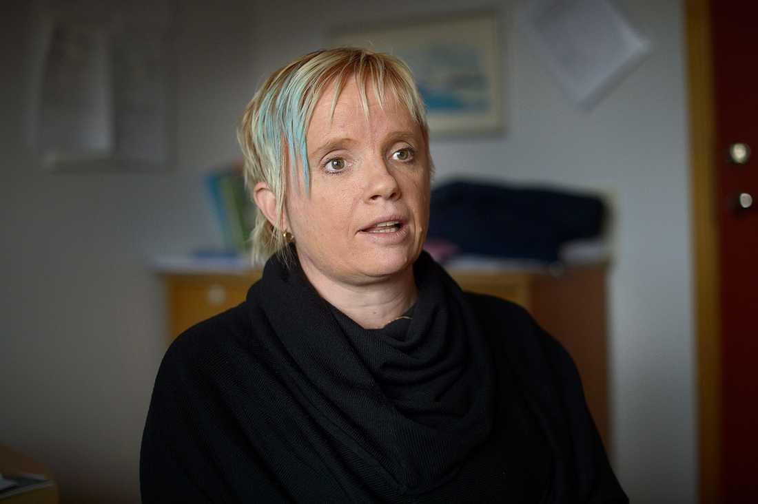 Johanna Nilsson, rektor.