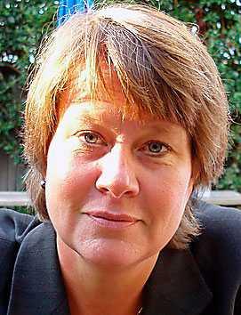 Elisabet Rothenberg, dietist och medicine doktor.