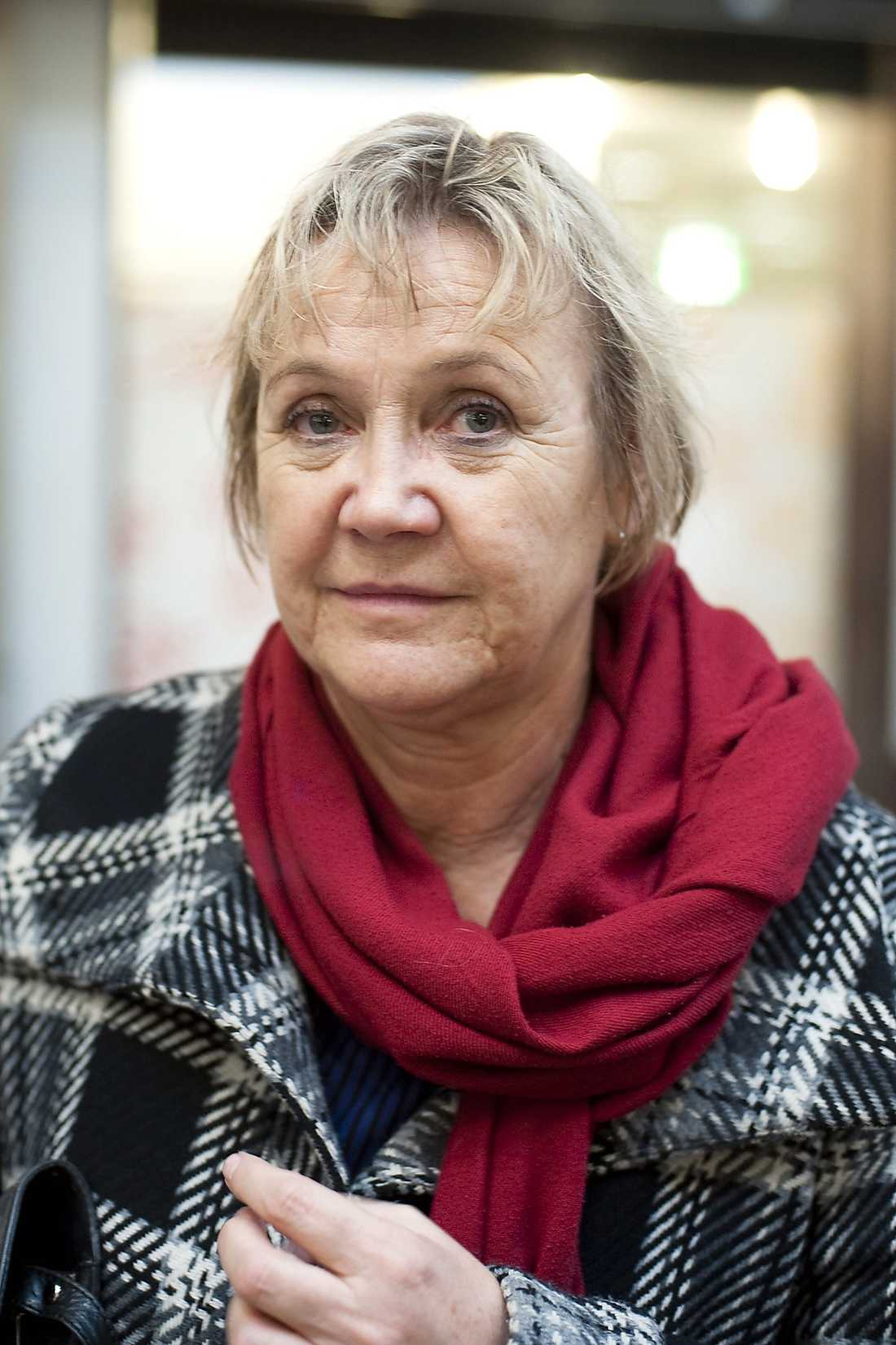 Ann-Margarethe Livh, 62, Stockholm. Gruppledare (V) i Stockholms stad.