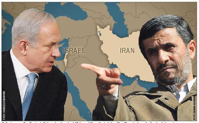 Spänningen mellan Benjamin Netanyahus Israel och Mahmoud Ahmadinejads Iran ökar för varje dag och påverkar hela regionen.