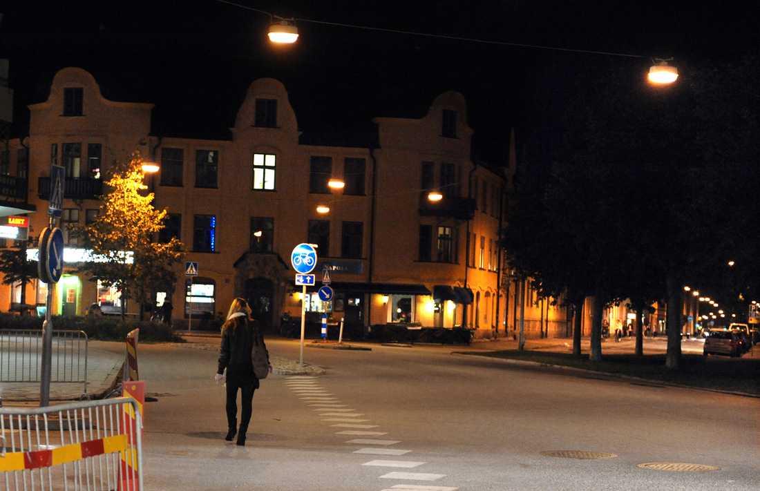 """2009 begick """"Örebromannen"""" ett våldtäktsförsök på Ekersgatan i Örebro."""