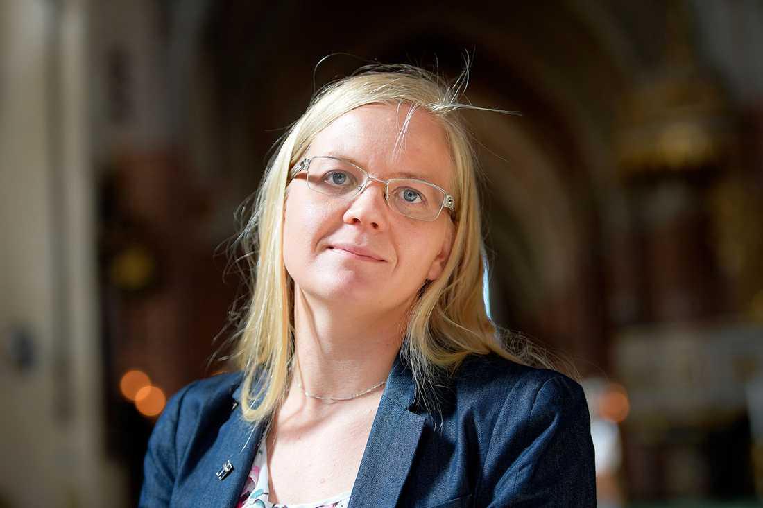 Julia Kronlid, SD:s familjepolitiska talesperson.