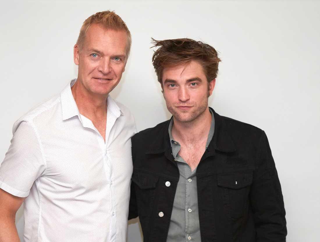 Nöjesbladets Magnus Sundholm har träffade Robert Pattinson.