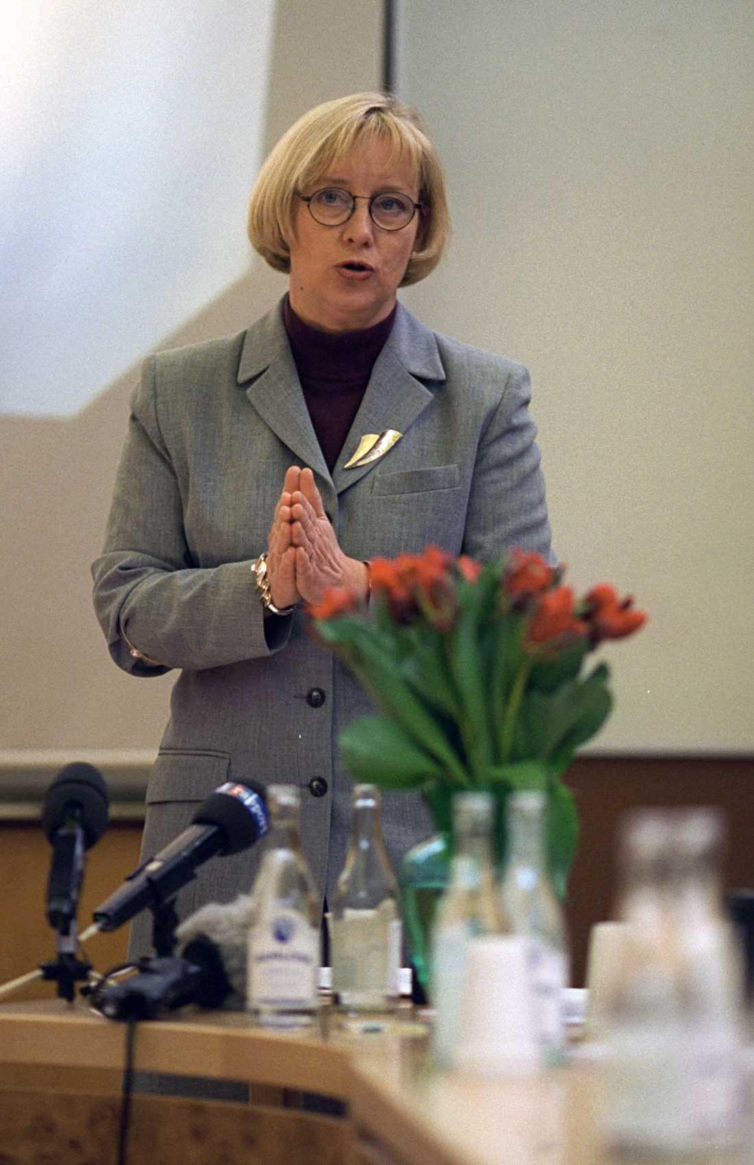 Förre S-ministern Ines Uusman.
