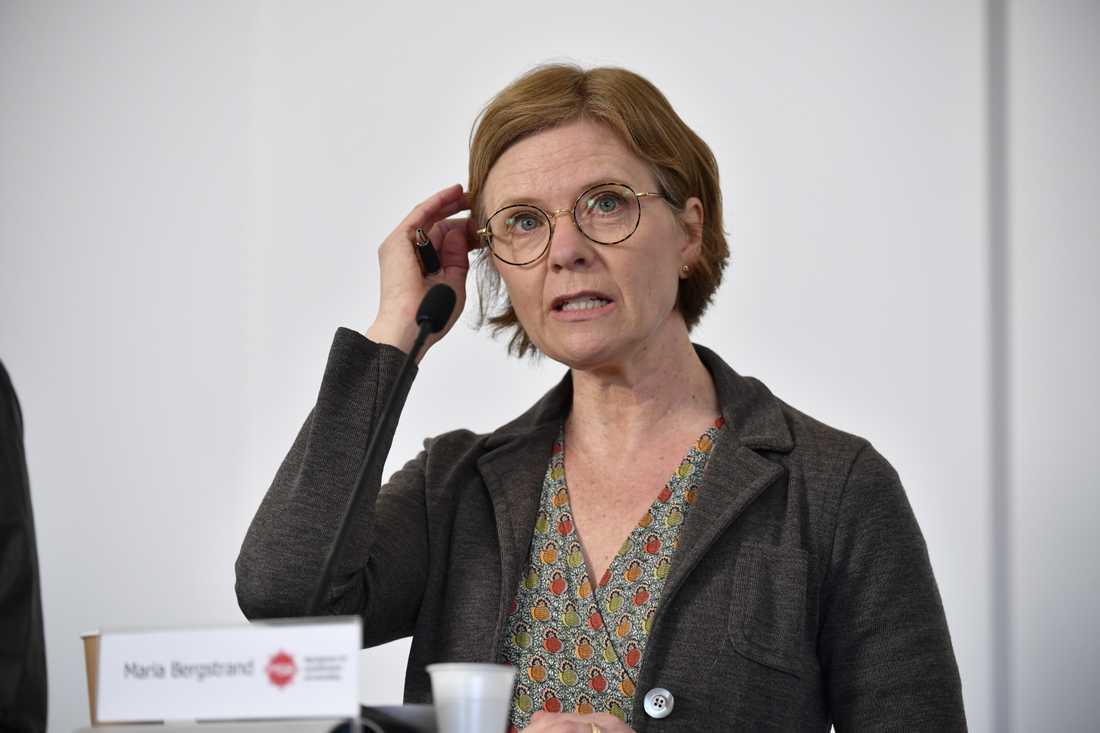 Maria Bergstrand vid Myndigheten för samhällsskydd och beredskap.