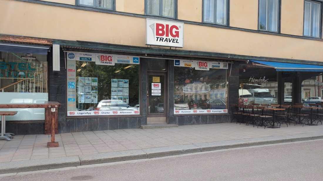 Big Travels butik i Uppsala ska inte påverkas.