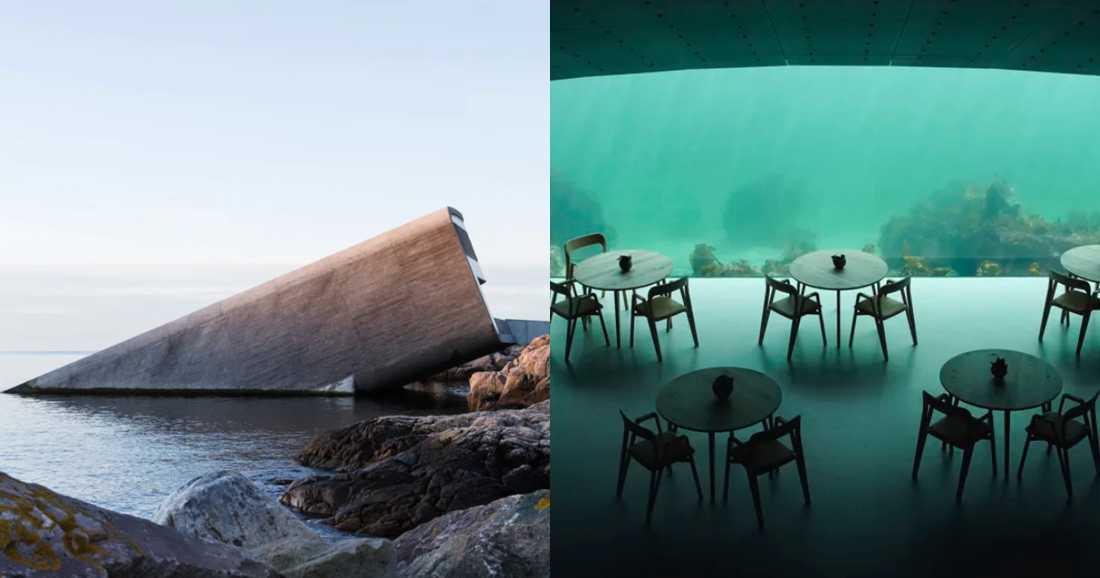 Norges första undervattensrestaurang med cool utsikt.