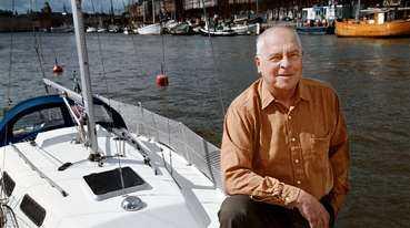En riktig kanalveteran är Carl Erik Tovås, 69. Sju gånger har han tagit sig till Medelhavet via Europas kanaler. Nu har han bara en drömresa kvar   att ta sig med båt genom Ryssland till Svarta havet.