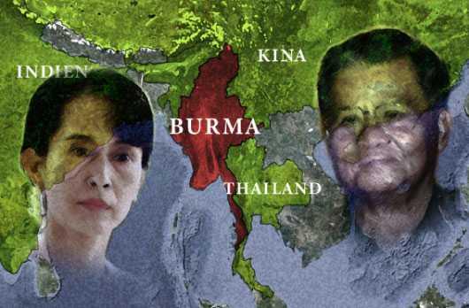 MÅSTE FÅ ETT SLUT Trots att Burmas oppositionsledare Aung San Suu Kyi släppts ur sin husarrest och presidenten Thein Sein reformerat samhället i Burma pågår fortfarande förföljelsen av folkgruppen rohingya i landet. Enligt uppgifter är 90000 av dem på flykt.