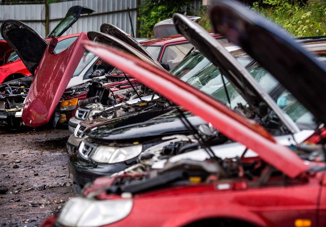 Upptäckten gjordes i början på mars sedan inspektörerna fått tips om att någon bodde bland bilskrotar och verkstäder i Malmös hamnområde. Arkivbild.