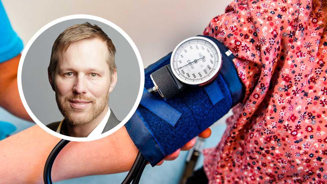 Björn-Owe Björk (KD), ordförande för hälso- och sjukvårdsutskottet, är bekymrad.