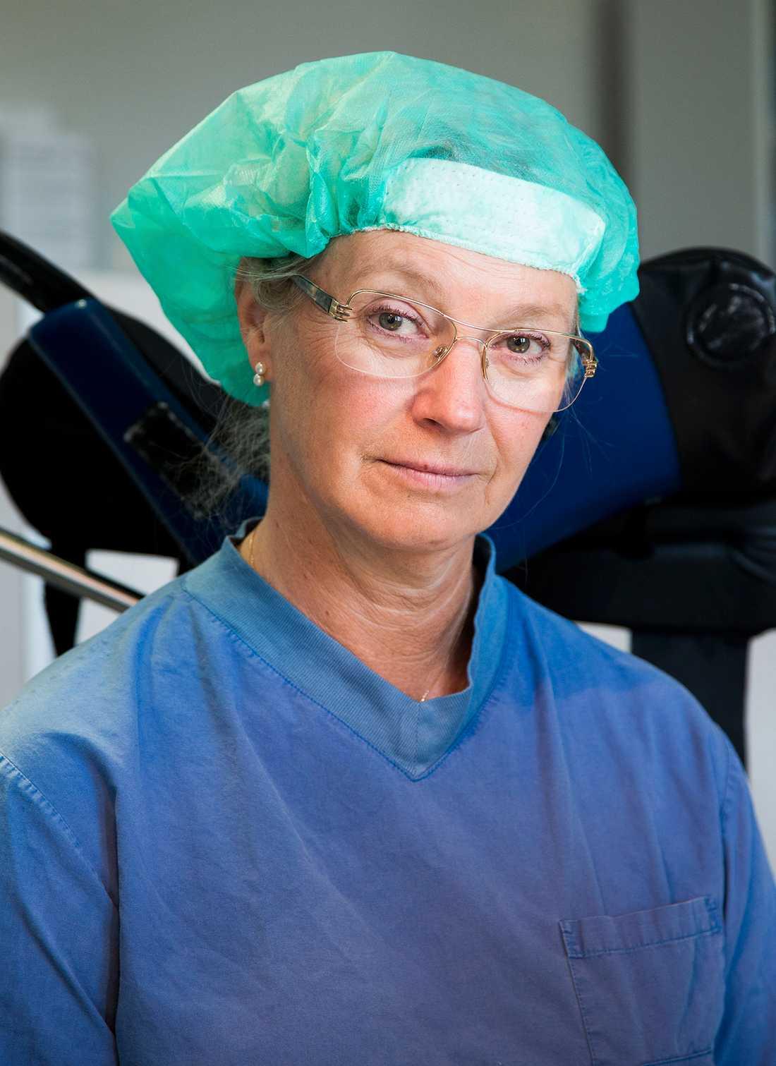 Överläkare Eva Uustal