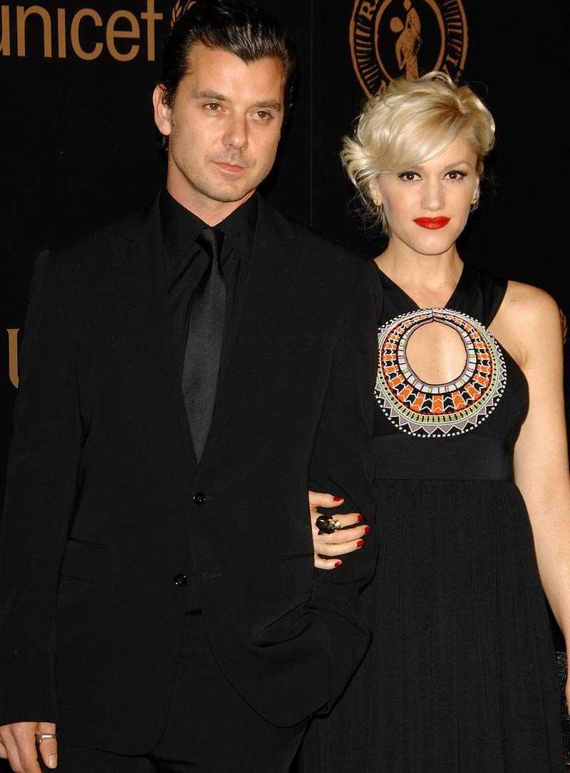 Gwen Stefani och Gavin Rossdale.