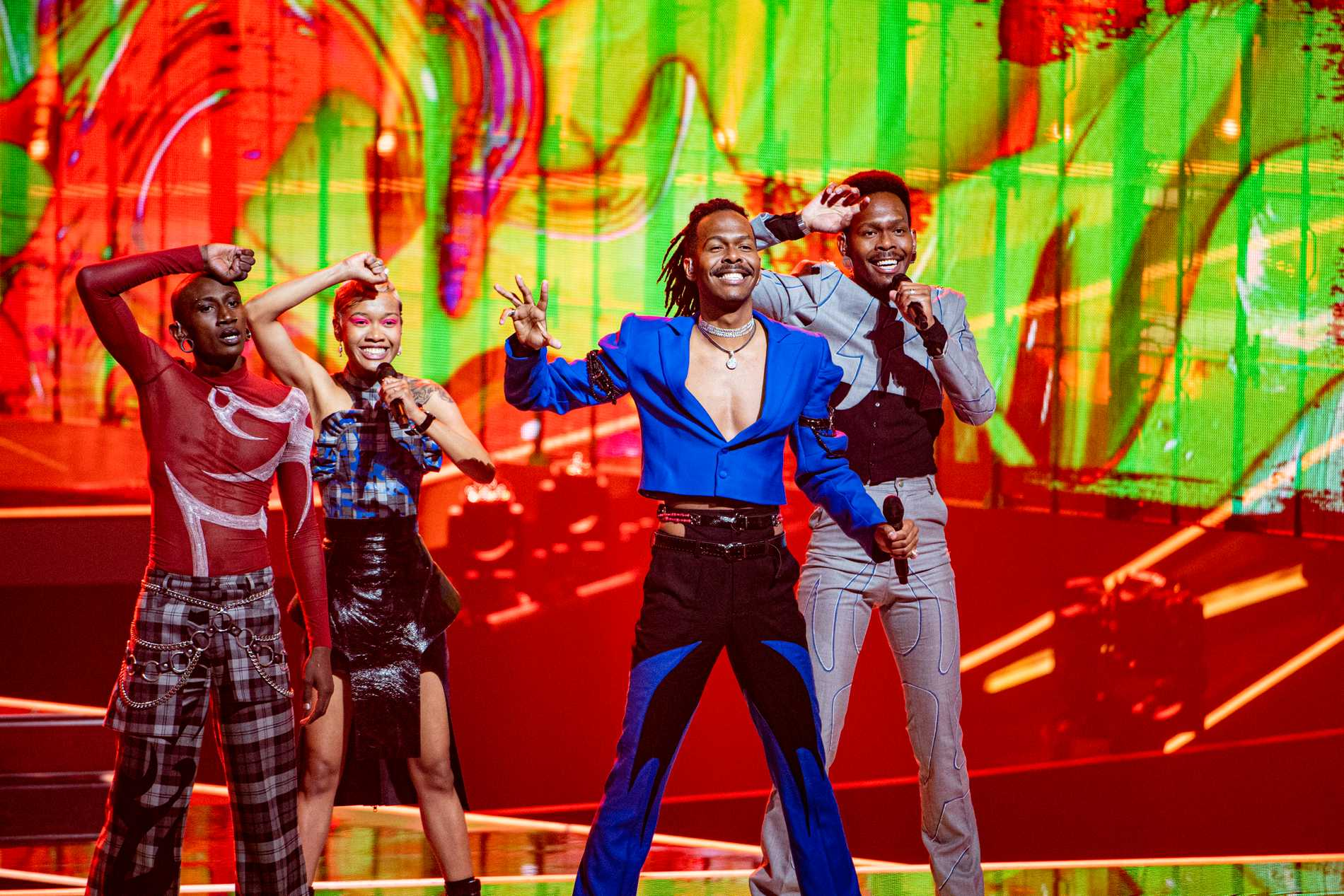 Jeangu Macrooy under Eurovision-repen