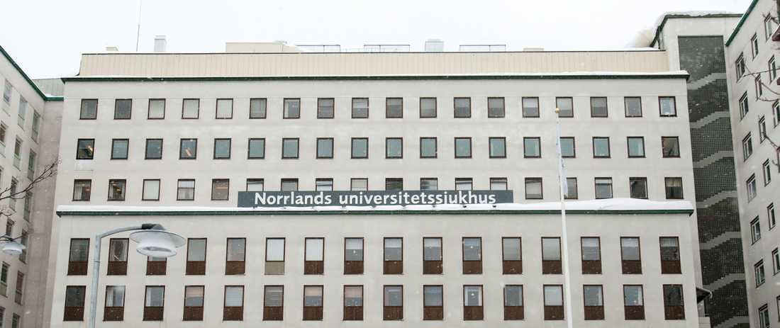 Norrlands universitetssjukhus. Arkivbild.