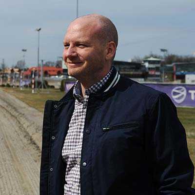Markus Myron, sportchef på Solvalla