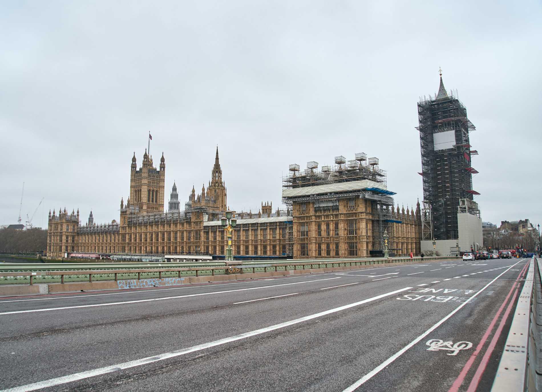 London har förvandlats till en övergiven metropol.