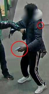 Polisen känner till mannen sedan tidigare.