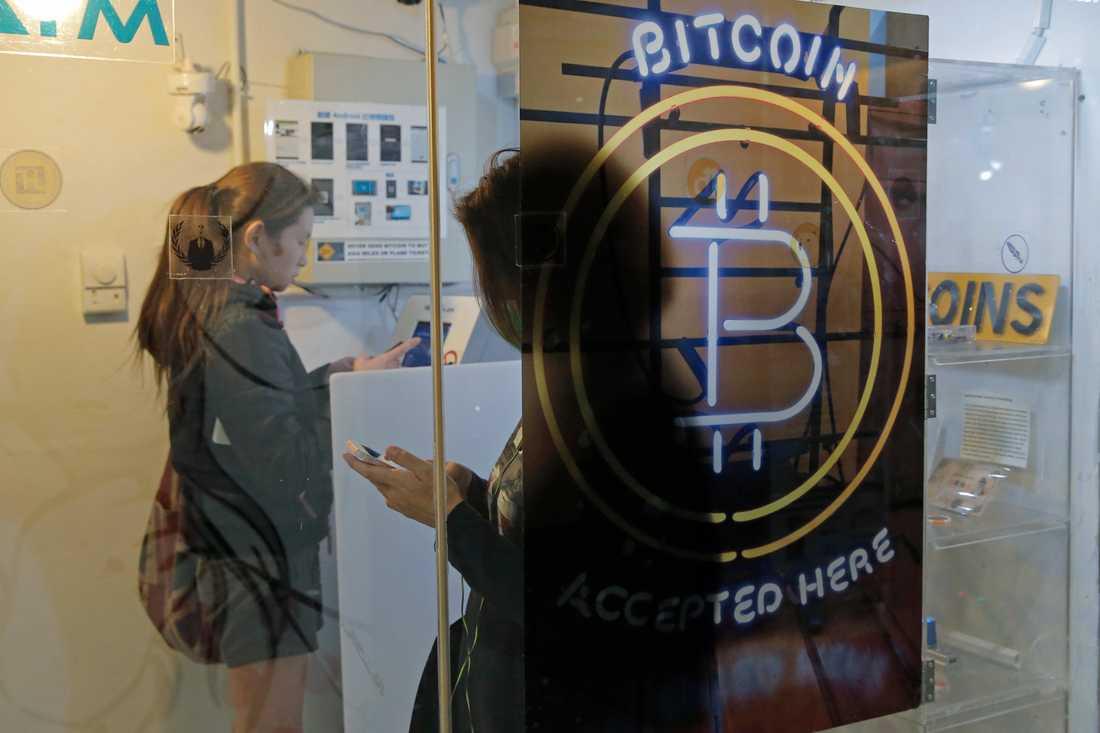 Bitcoin är fortfarande framför allt en valuta för spekulation, snarare än ett betalningsmedel. Arkivbild.