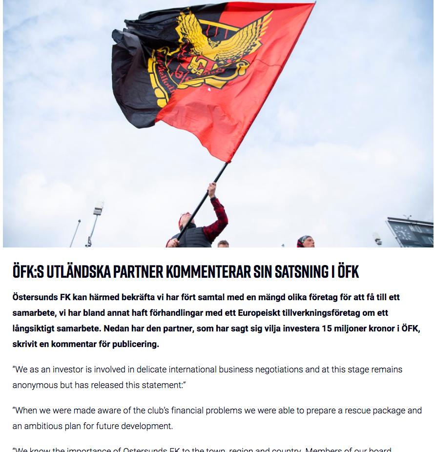 Från Östersunds hemsida
