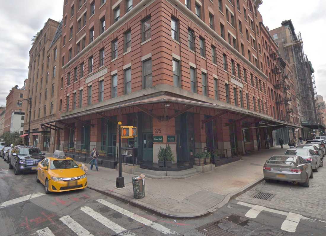 Robert De Niros restaurang Tribeca Grill i New York.