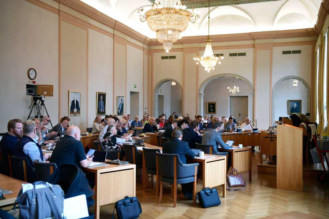 Kommunfullmäktige i Eskilstuna.