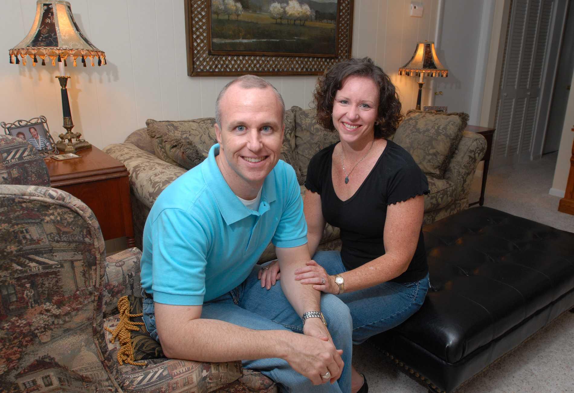 Alan Chambers med frun Leslie