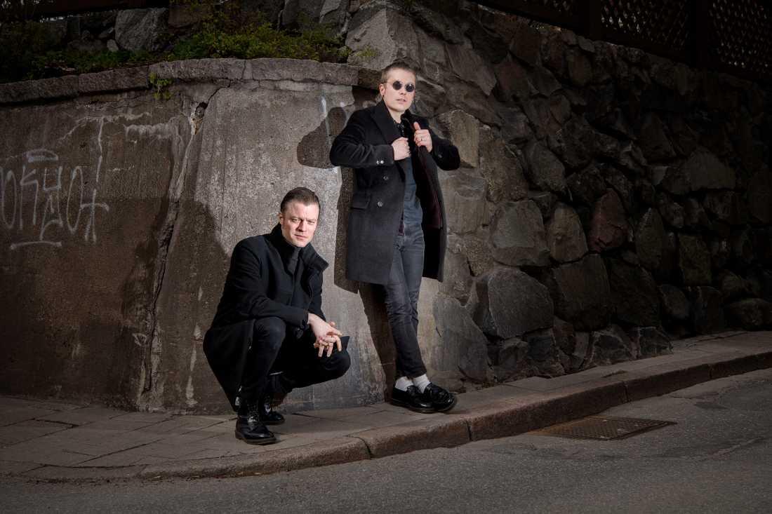 Björn Dixgård och Jens Siverstedt.