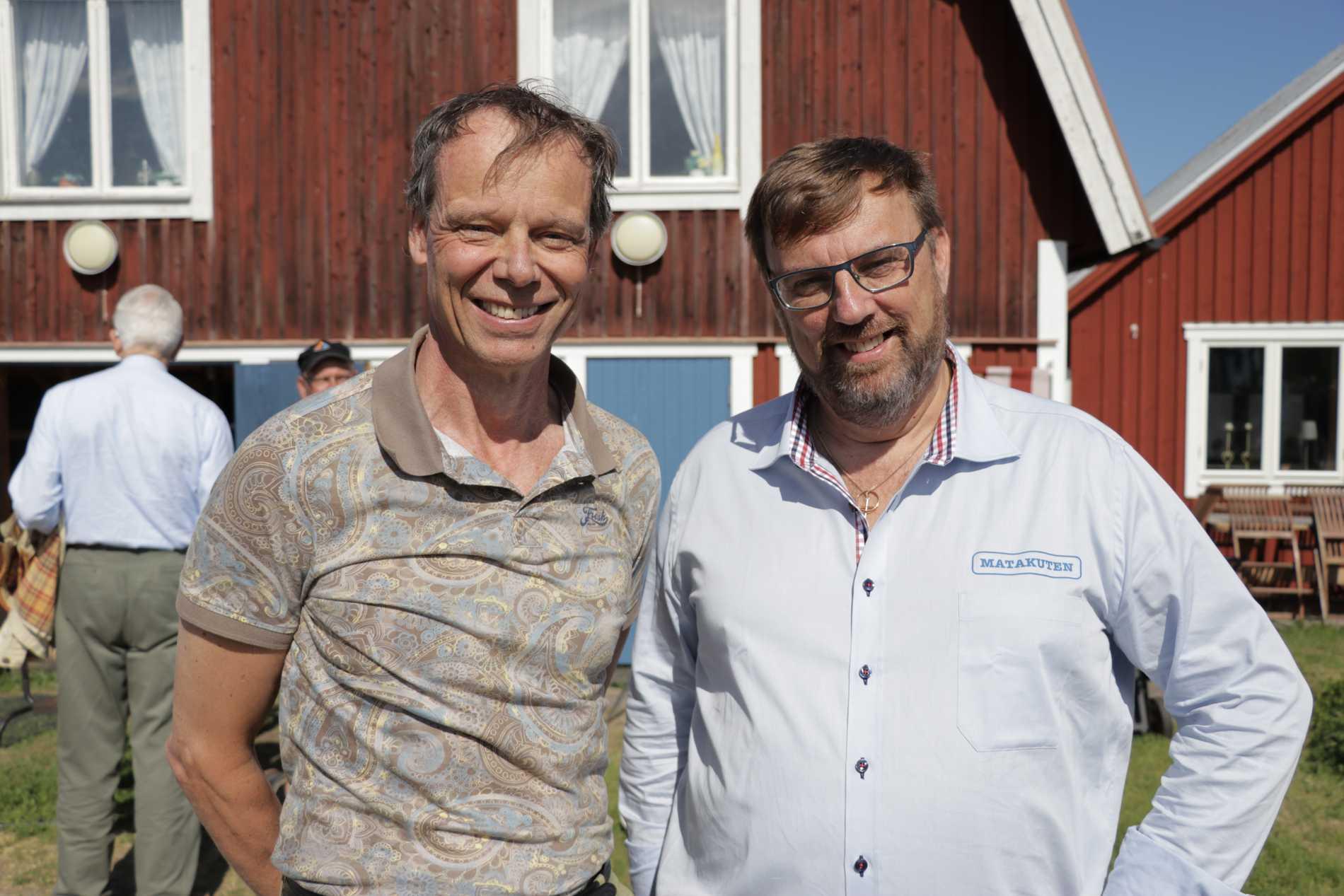Också rymdfararen Christer Fuglesang var nyfiken på Lasses arbete.