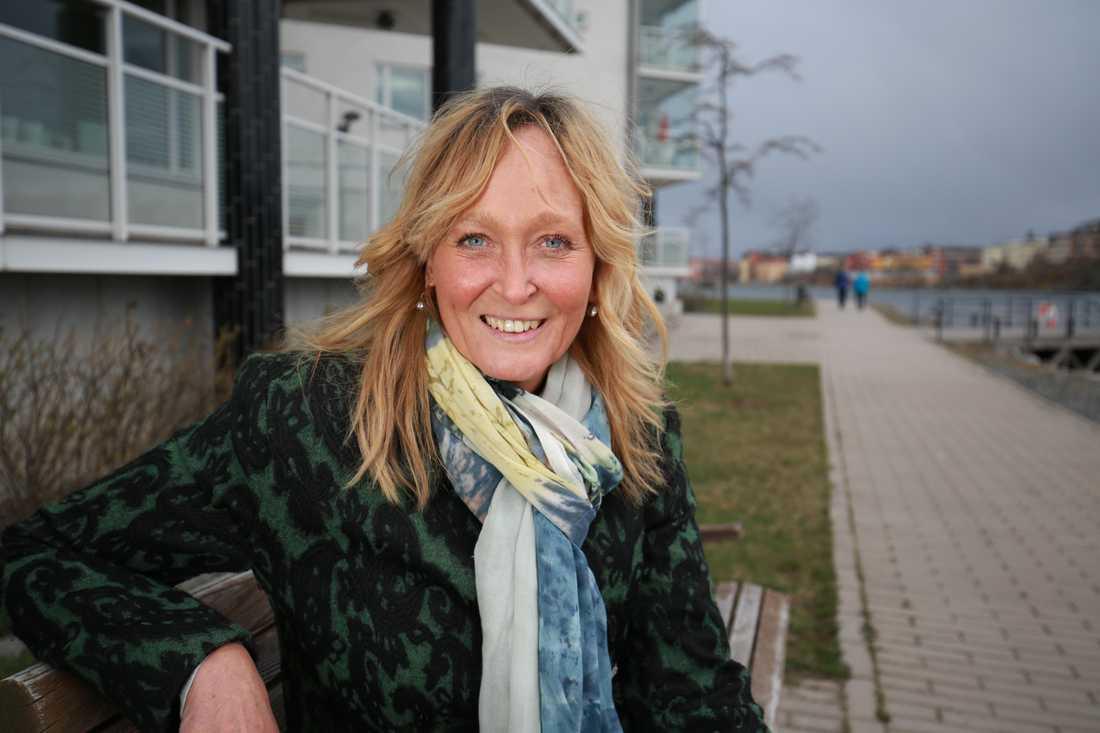 Pamela Andersson vågar äntligen se framåt lite mer i taget.