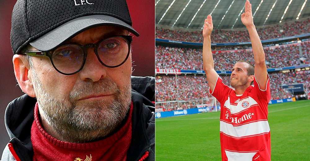 Jürgen Klopp och Mehmet Scholl.