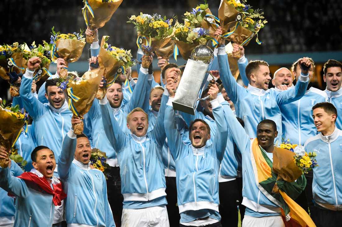 Malmö tog hem SM-guldet 2016.