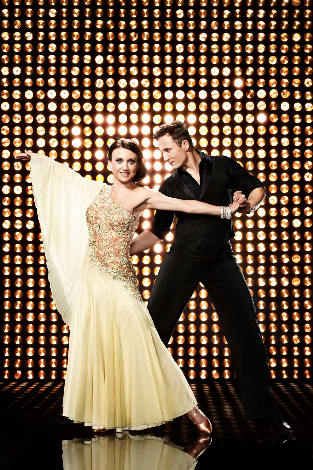 Camilla Läckberg i Let's dance.