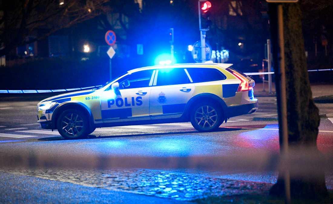 En man knivskars i Storås under onsdagskvällen. Arkivbild.