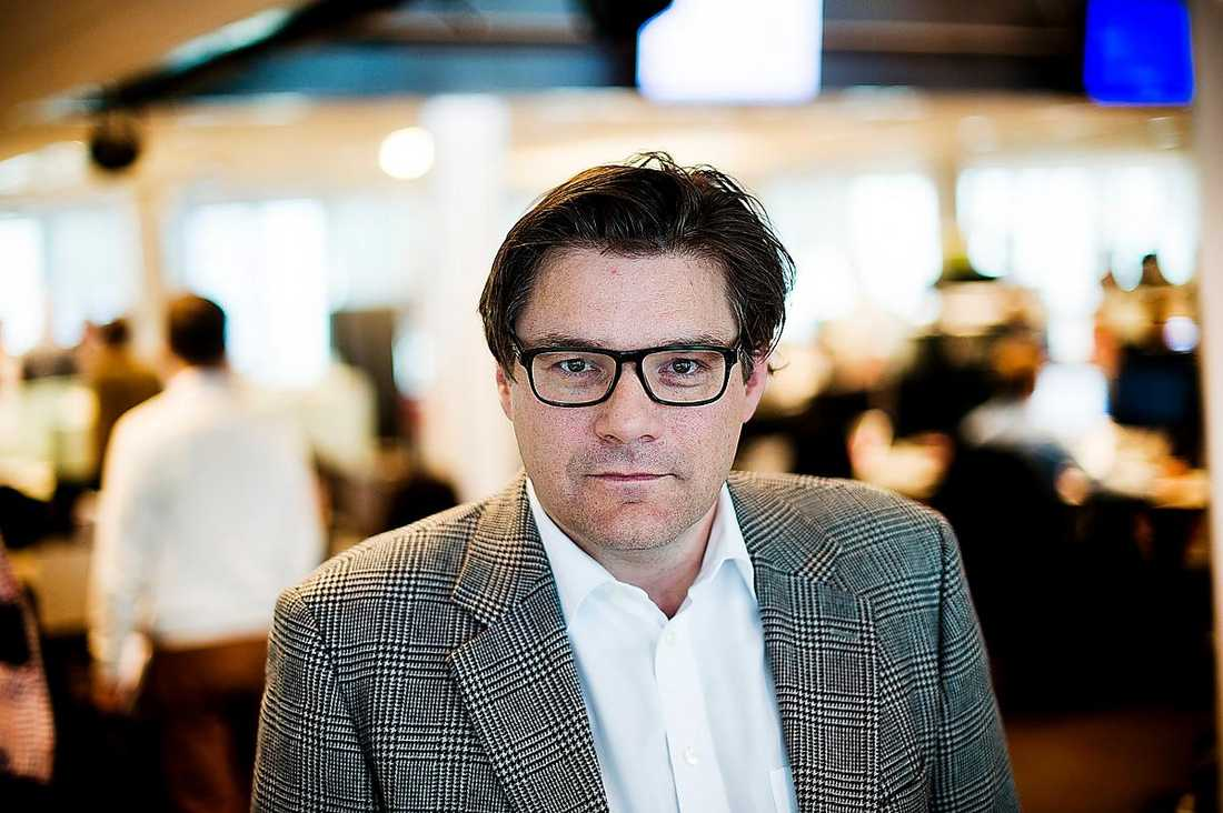 Aftonbladets publisher Jan Helin.