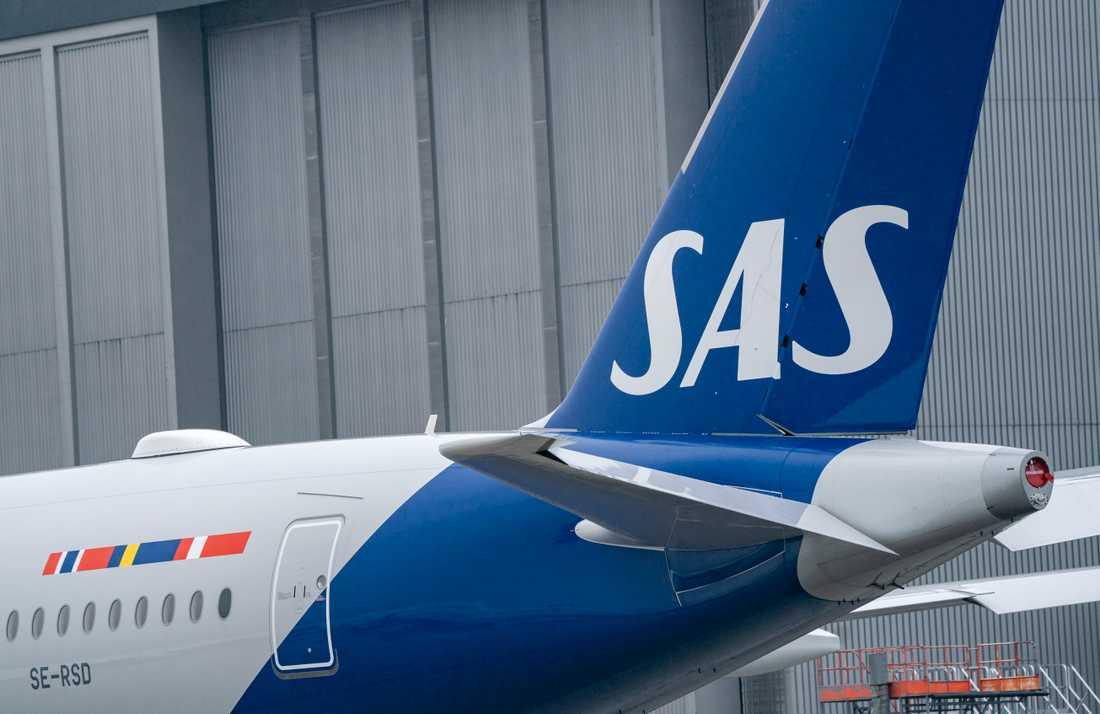 SAS gjorde en förlust på drygt tre miljarder kronor under senaste kvartalet.