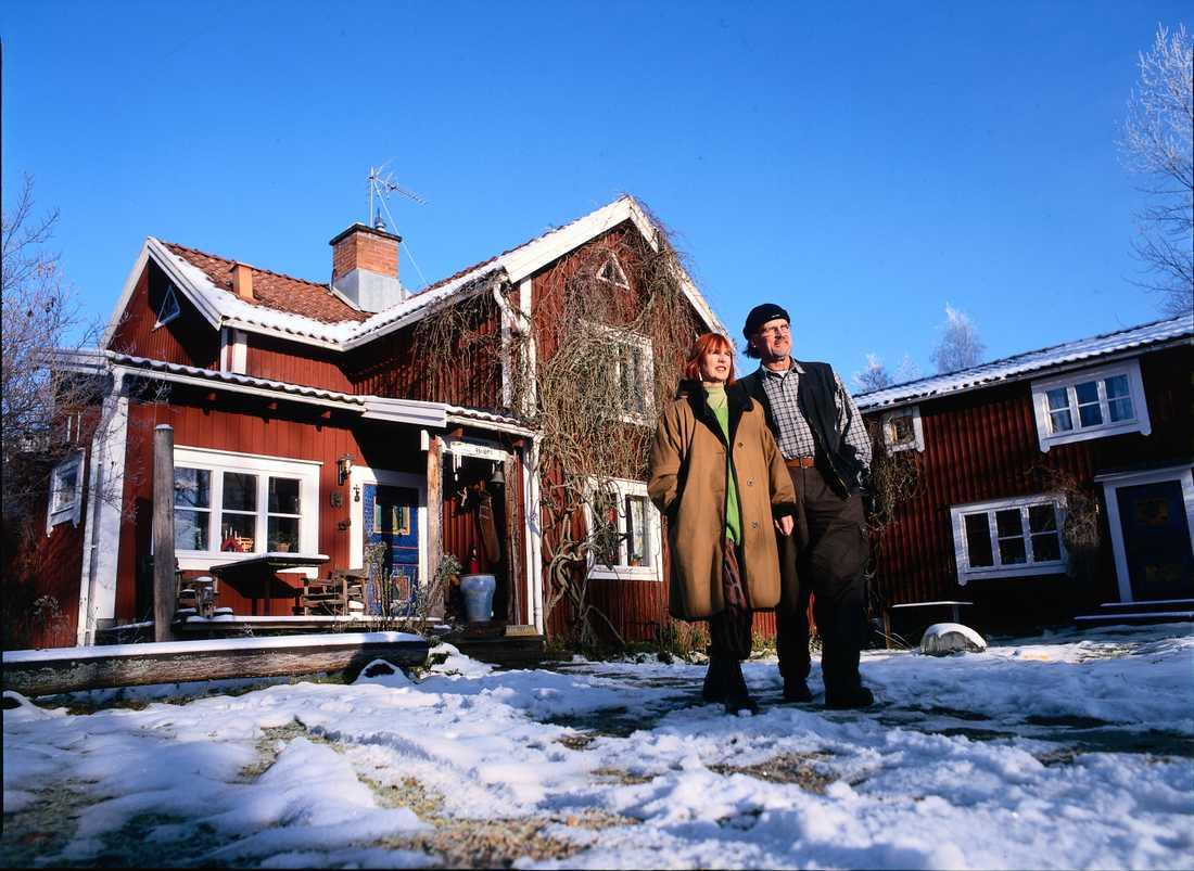 Hemma hos paret Hydman Vallien i Åfors i Småland.