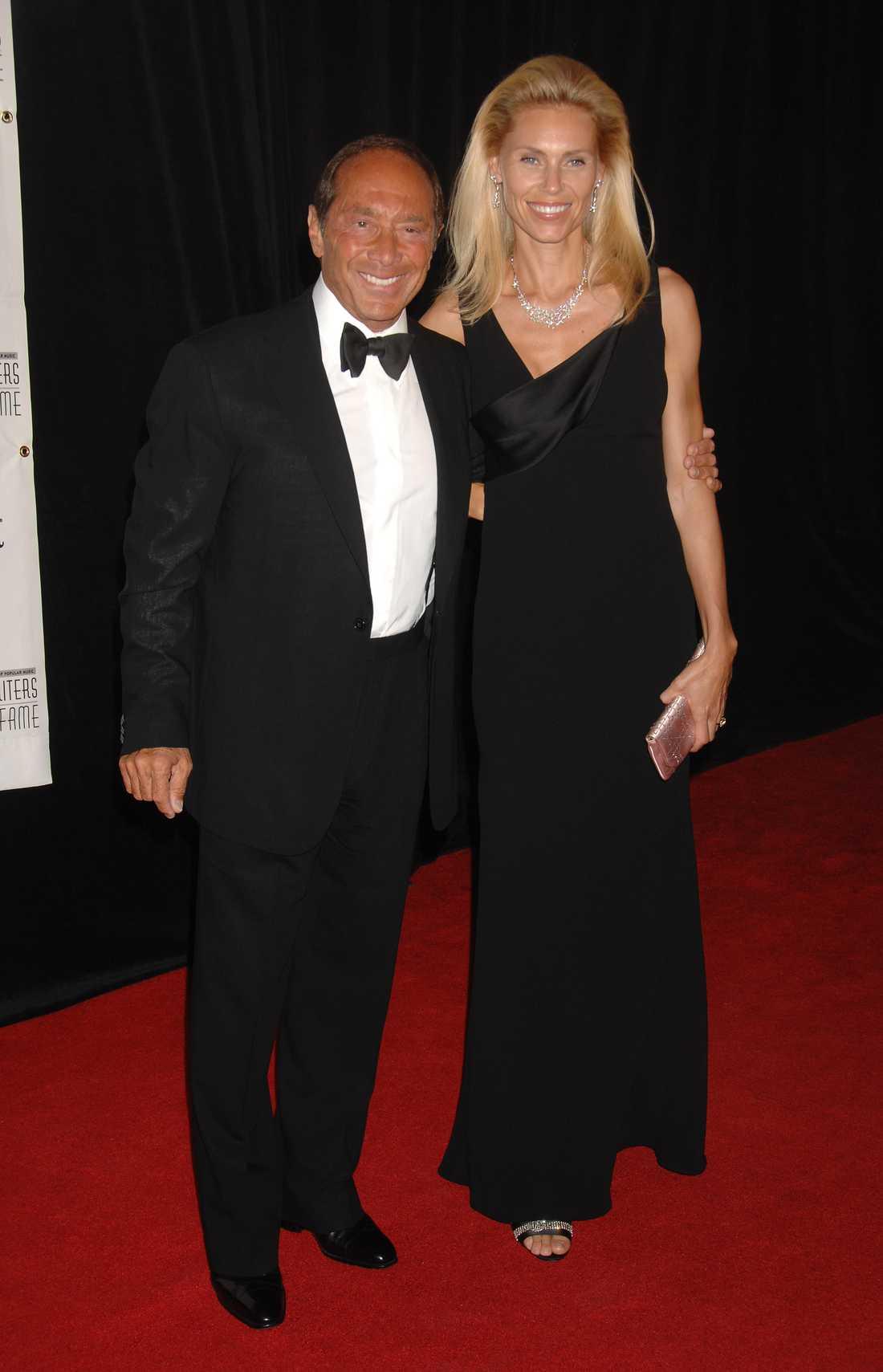 Paul Anka och ex-frun Anna Anka