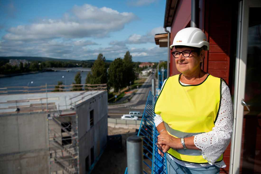 Förutom Skebo är flera andra aktörer numera aktiva bostadsbyggare i Skellefteå.