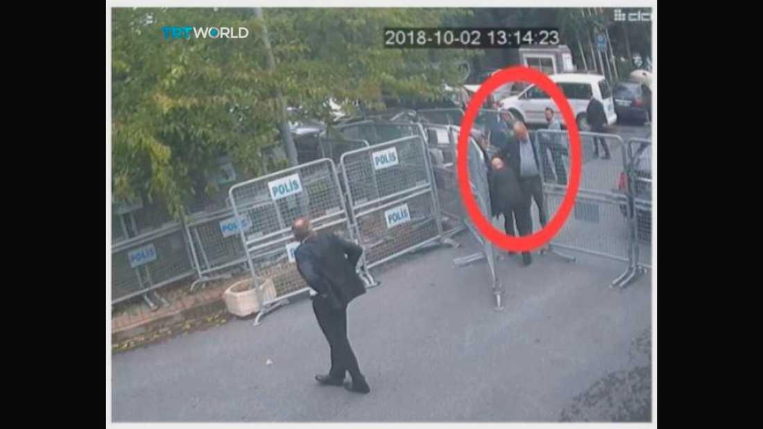 Jamal Khashoggi mördades inne på Saudiarabiens konsulat i Istanbul tidigare i år.