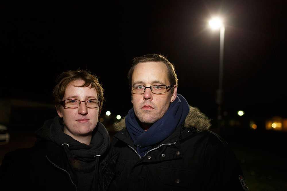 Martin och sandra Ingvarsson.