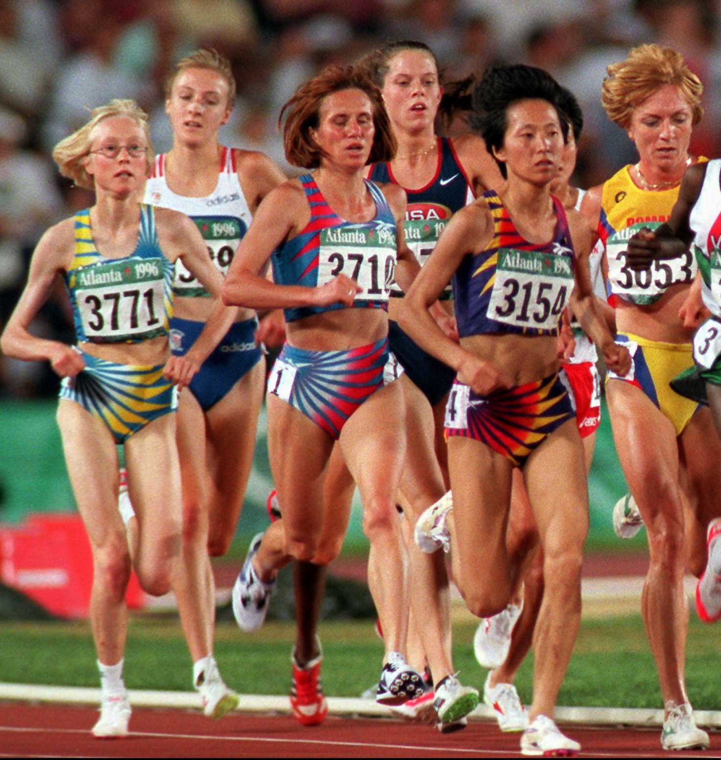 Sara Wedlund under OS i Atlanta.